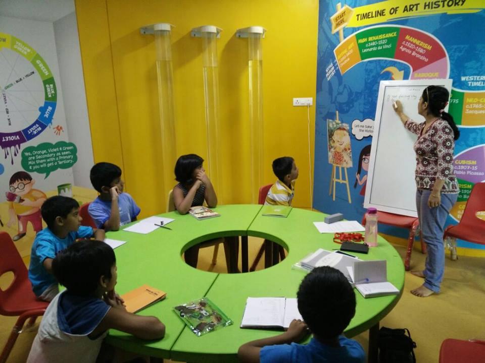 Litttle ambassadors- a classroom session